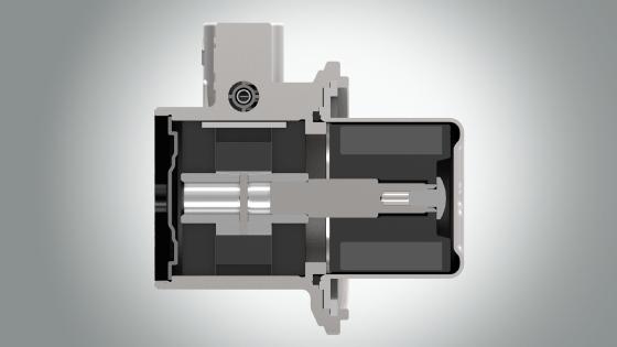 磁驱叶片泵
