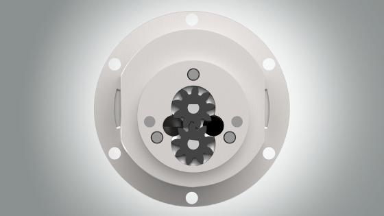 磁驱外齿轮泵