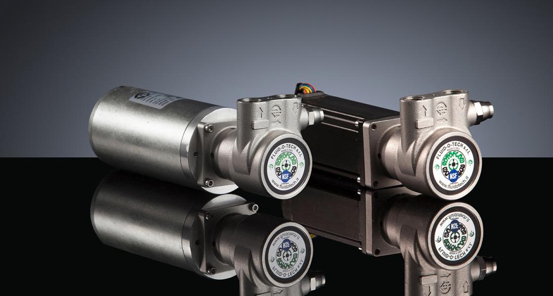 新型直驱旋转叶片泵电机一体机GA系列