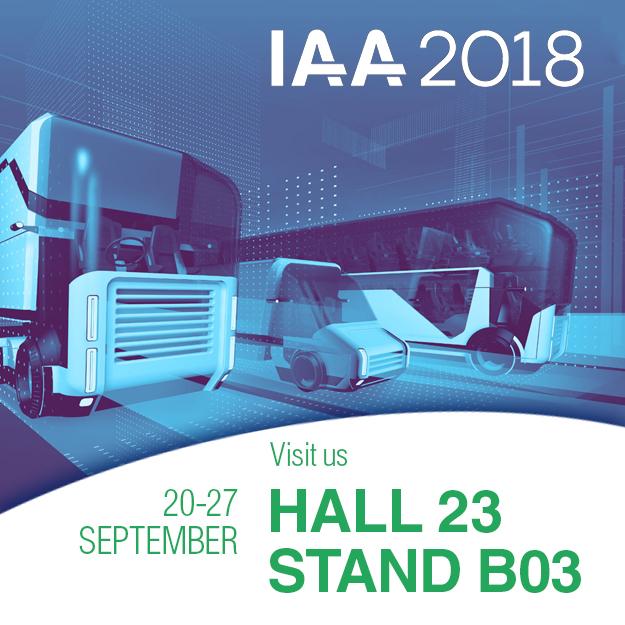 我们在2018年IAA商用车展上